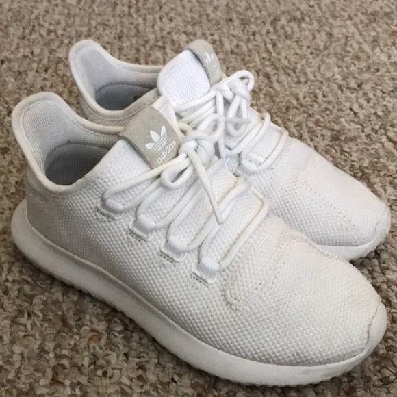 le adidas tubulare poshmark bianco